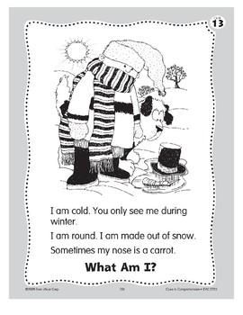 What Am I? A Snowman