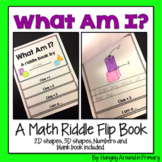 Guess my Shape or Number - A Math Riddle Flip Book