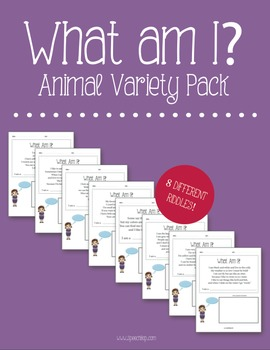 What Am I? Animal Variety Pack
