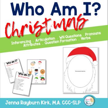 Christmas Questions To Ask.Who Am I Christmas