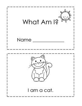 What Am I? ~ Emergent Reader