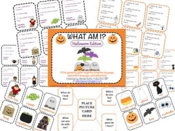 What Am I? Halloween Edition {A Describing Game}