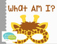 What Am I? Interactive Vocabulary Book: Zoo Edition