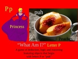 First Sound Fluency Letter P - Mystery Game - Literacy RTI ESL SPED Powerpoint