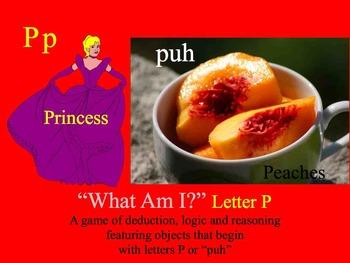 First Sound Fluency Letter P - Literacy RTI ESL SPED Phonemic Awareness Keynote