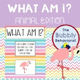 What Am I? Matching Cards: Animal Edition