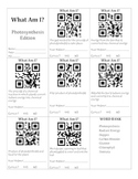 QR Codes & Photosynthesis Vocabulary