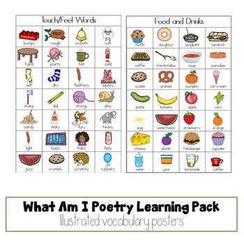 What Am I Poetry Learning Pack