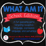 What Am I? A Describing Game {School Edition}