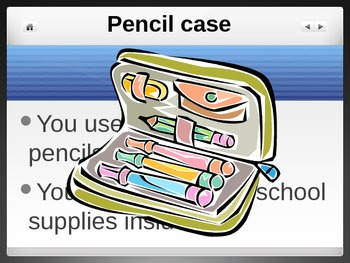 What Am I? - School Supplies Vocabulary Guessing