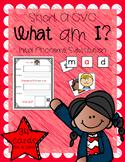 What Am I? (Short A CVC - Initial Phoneme Manipulation)