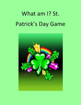 What Am I? St. Patrick's Day Game