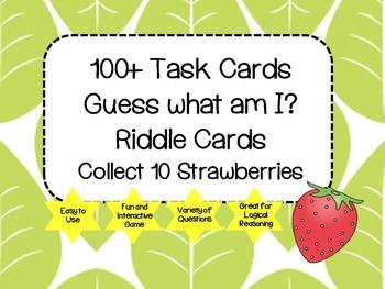 Riddle Task Cards