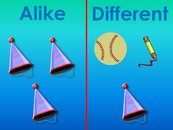 What Are Alike and Different?