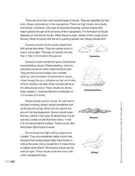 What Are Clouds? (Lexile 810)