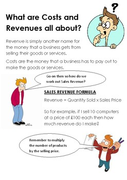 What Are Costs and Revenue All About?
