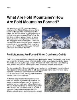 What Are Fold Mountains? How Are Fold Mountains Formed?
