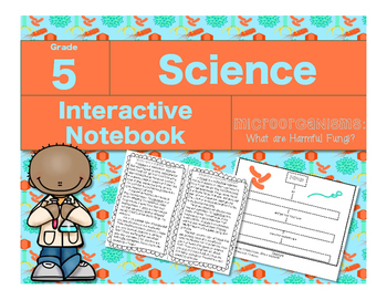 Microorganisms Interactive Notebook-What Are Harmful Fungi?
