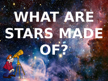 What Are Stars Made Of? 5th Grade Science Lesson