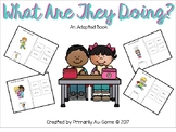 What Are They Doing? (An Adapted Book for working on Speech & Sentence Making)