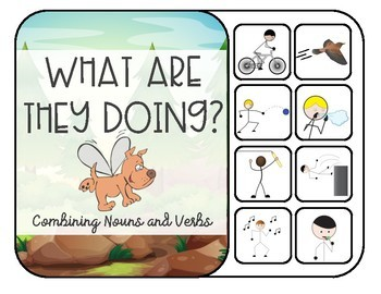 What Are They Doing? Interactive Noun Verb Combinations, Actions