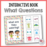 What Are They Wearing? – Interactive WH Question Book