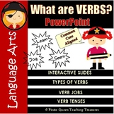 What Are Verbs? – PowerPoint /CCSS Aligned 3rd Grade Up/Di