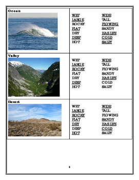 What Are the Characteristics of Various Landforms