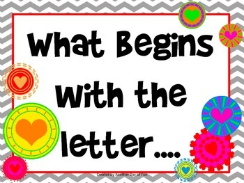 What Begins With...