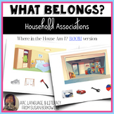 What Belongs Household Associations BOOM Cards