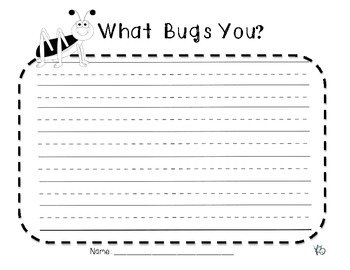 What Bugs You? Writing Prompt!