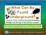 SCIENCE, READER'S & WRITER'S WORKSHOP Unit What Can Be Found Underground?