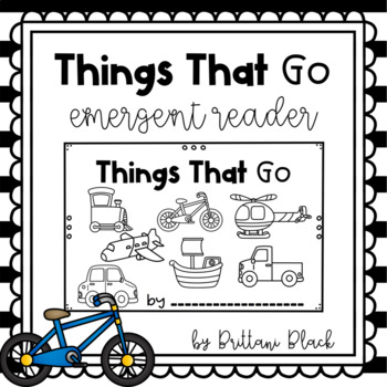 Things That Go- emergent reader