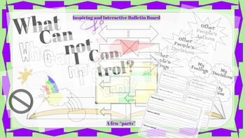 What Can I Control?  Bulletin Board Kit