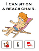 What Can I Do At The Beach? Adapted Book (Speech, Autism)