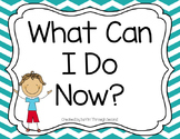 What Can I Do Now? Posters-Editable