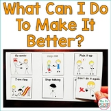 What Can I Do To Make It Better? Visual Supports For Students