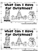 What Can I Have For Christmas?  (A Sight Word Emergent Reader and Lap Book)
