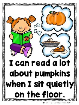 What Can I Read About in the Fall?  Emergent Reader {Ladybug Learning Projects}