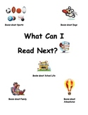 What Can I Read Next?: A quick guide for student book selection