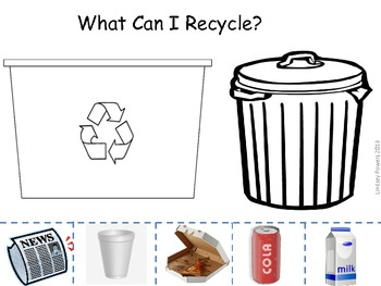 What Can I Recycle? Earth Day Activity