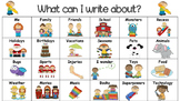 What Can I Write About? A Writer's Menu of Ideas