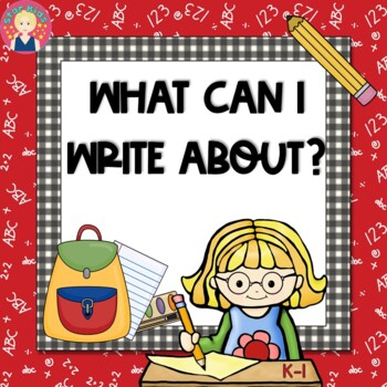 Writing Posters for Kindergarten and First Grade