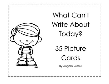 What Can I Write About Today? - 35 Picture Cards