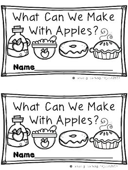What Can We Make With Apples? Emergent Reader {Ladybug Learning Projects}