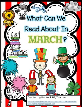 What Can We Read About In March? thematic emergent reader for March