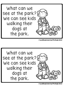 What Can We See At The Park