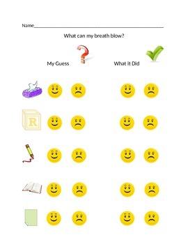 What Can Wind Blow Preschool Activity
