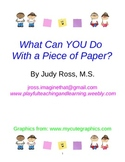 What Can YOU Do With a Piece of Paper?