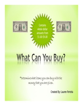 What Can You Buy?